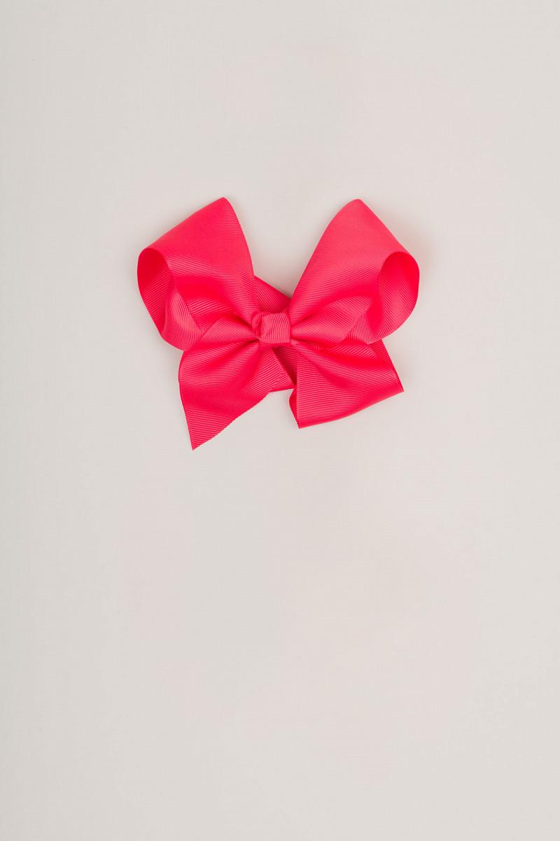 Naglavni okrasek pentlja - lasnica (roza rdeča)